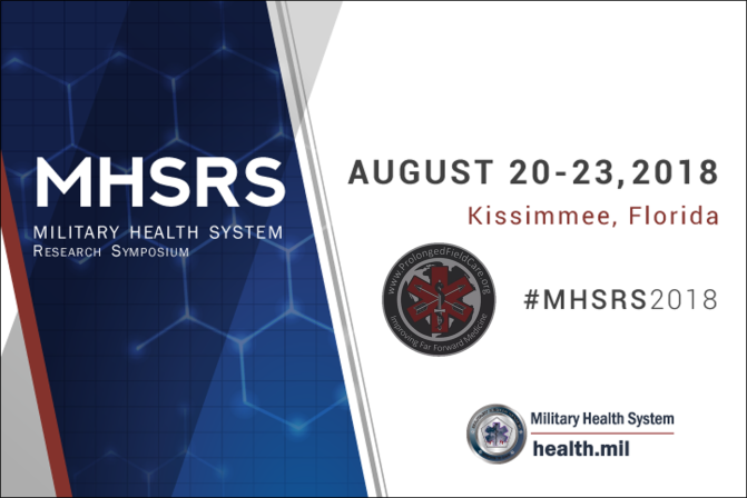 Prolonged Field Care at MHSRS 2018